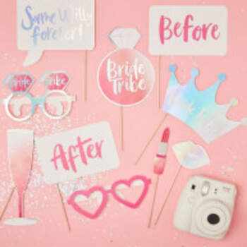 Photo Booth Bride Tribe 10 Pièces - The Wedding Shop !