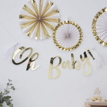 Guirnalda Inscripción Oh Baby- Compra en The Wedding Shop