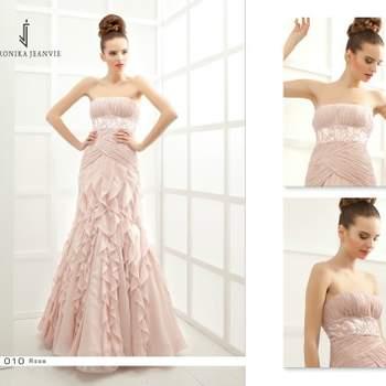 Robe de mariée Veronika Jeanvie - modèle Rose