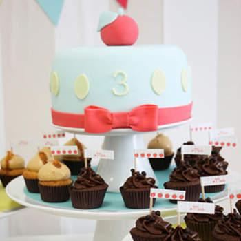 Cupcakes au chocolat, Amy Atlas