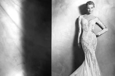 Arrasa con uno de estos 69 vestidos de novia de corte sexy para 2016. ¡Te sorprenderán!