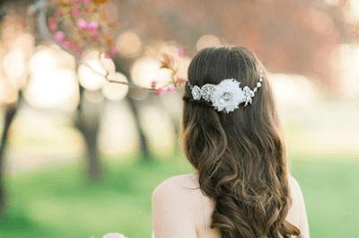 Peinados de novia con pelo suelto: ¡Apuesta por lo natural y triunfa!