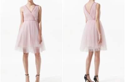 Low Cost Brautkleid: Brautkleid im zarten Rosa für weniger als 60€