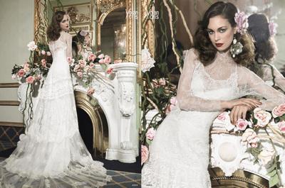 Vestidos de novia 2014 estilo vintage de YolanCris