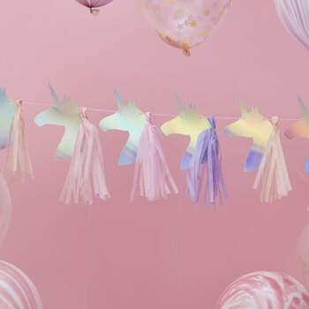 Guirnalda Unicornios Iridiscentes- Compra en The Wedding Shop