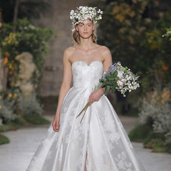 Reem Acra 2019. Credits: Barcelona Bridal Fashion Week