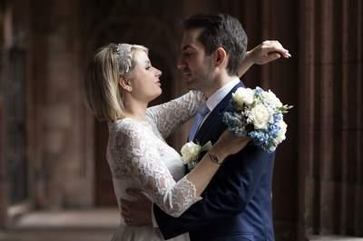 Zivile Trauung mit Babybauch: So romantisch heirateten Martina & Konstantin in Basel