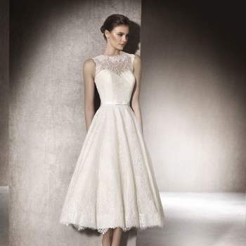 Vestidos de noiva curtos: para noivas elegantes e descontraídas!
