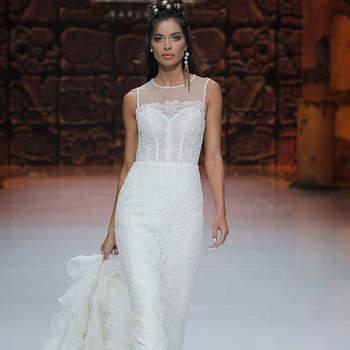 Inmaculada Garcia. Credits_ Barcelona Bridal Fashion Week