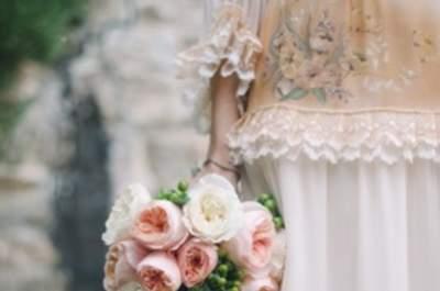 Una boda vintage chic en Florencia, Italia