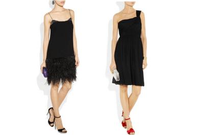 Recicla tu vestido negro para una boda de día, de noche o civil