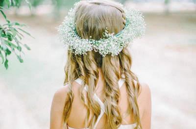 Lujo sutil: Inspiración para decorar tu boda con lindas guirnaldas