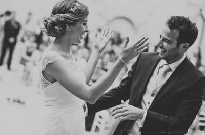 Wie Sie eine kleine, aber zauberhafte Hochzeit verwirklichen können. Foto: Gávila Fotografía
