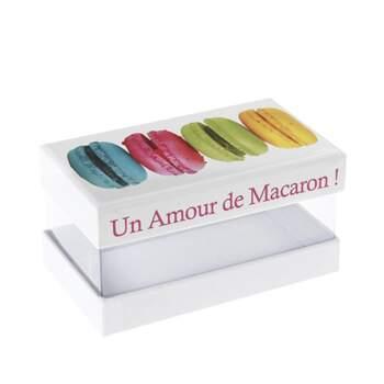 Boite à macarons 2 pièces -  The Wedding Shop !