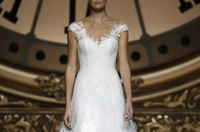 Vestidos de novia con hombros caídos 2016, ¡únete a las nuevas tendencias!