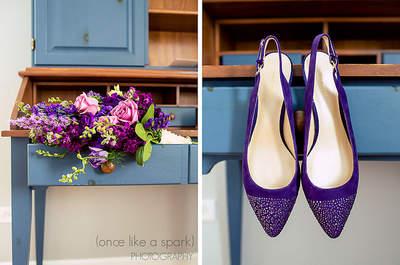 Chaussures de mariée : faites le plein de couleurs et de styles