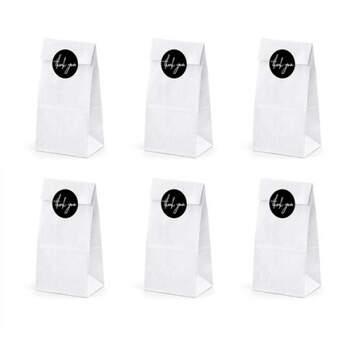 Bolsa de papel Gracias 6 unidades- Compra en The Wedding Shop