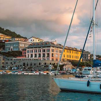 Photo: Grand hotel Portovenere