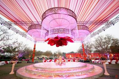 Top 6 wedding venues featuring gardens in Udaipur