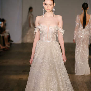 Berta Bridal. Credits: Barcelona Bridal Fashion Week
