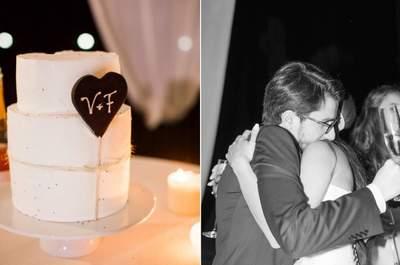 Casamento personalizado pelos noivos Vânia e Filipe