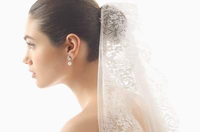 Velos de novia para complementar tu look. ¡Encuentra tu favorito!