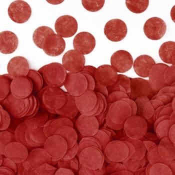 Confeti rojo- Compra en The Wedding Shop