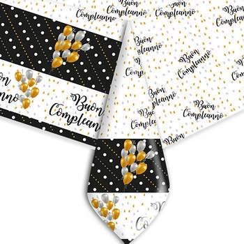 Mantel De Plástico Cumpleaños- Compra en The Wedding Shop