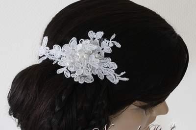 Nuage de perles: les accessoires qui donneront une touche féerique à votre tenue de mariée!