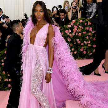 Naomi Campbell de Valentino. Credits: Cordon Press