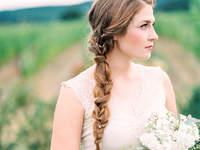 Penteados de noiva com tranças 2017
