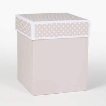 Caja grande del detalle de partido del lunar 20 pedazos- Compra en The Wedding Shop