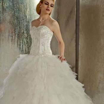 Robe de mariée Christine Couture 2013 - modèle Etincelle