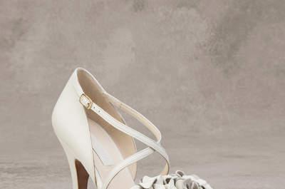 Zapatos de novia 2016: elige con cuál darás el primer paso
