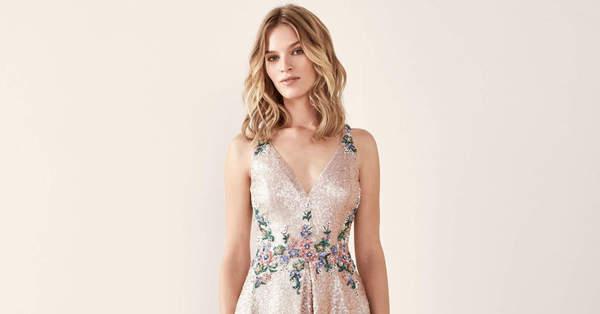 25b5b39a5d Vestidos de fiesta cortos llenos de detalles extraordinarios ...