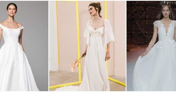 8219c5e9be Abiti da sposa per donne poco alte: modelli che ti lasceranno a bocca aperta