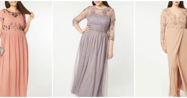 7aeb7574aa Vestidos para invitadas curvy  33 estilismos perfectos para bodas de  primavera