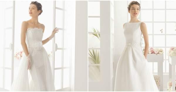 49a7d10b4f3 Robes de mariée Aire Barcelona 2016   Une collection raffinée pleine  d élégance et de style