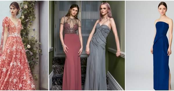 c8723febbfe Festmode zum Schwärmen – Wie gefallen Ihnen diese langen Abendkleider für  Hochzeitsgäste