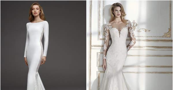 35706997a4b 70 robes de mariée coupe sirène à couper le souffle !