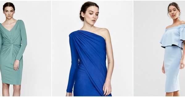 9c02555f7 Vestidos de fiesta azules cortos 2017  el color perfecto para todo tipo de  mujer