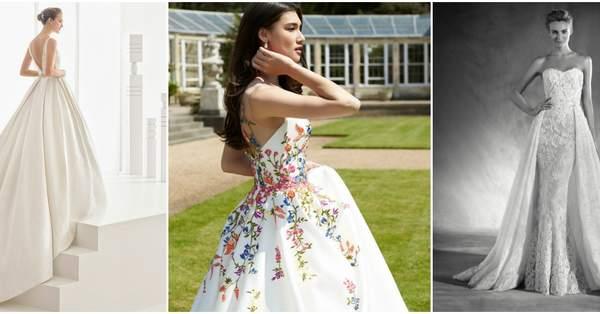 f102048b6 Los vestidos de novia más románticos del 2017. ¡No sabrás con cuál quedarte!