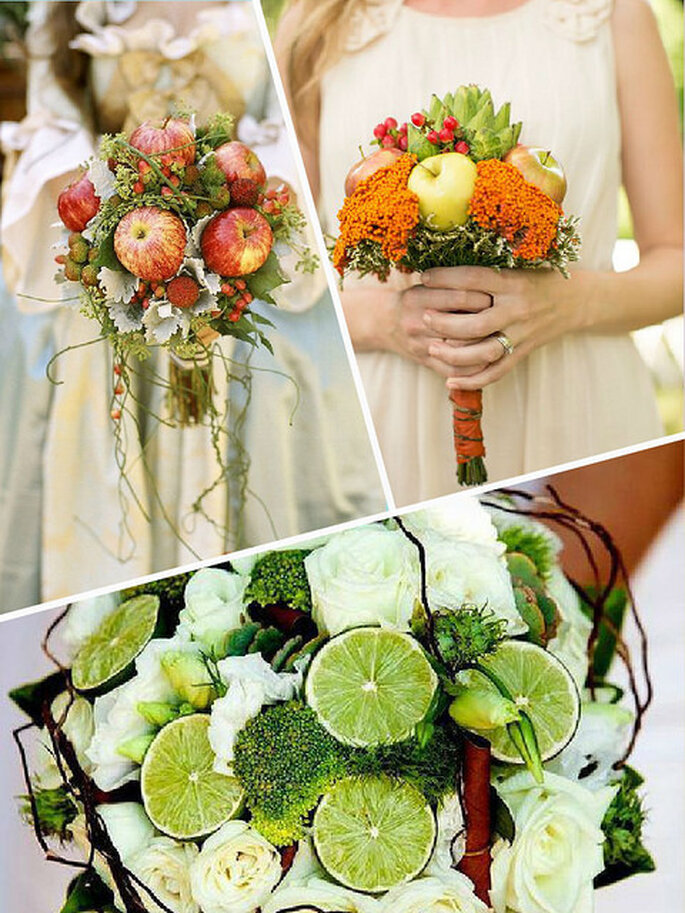 Ramos de frutos y flores. Foto: Lianne Nichols
