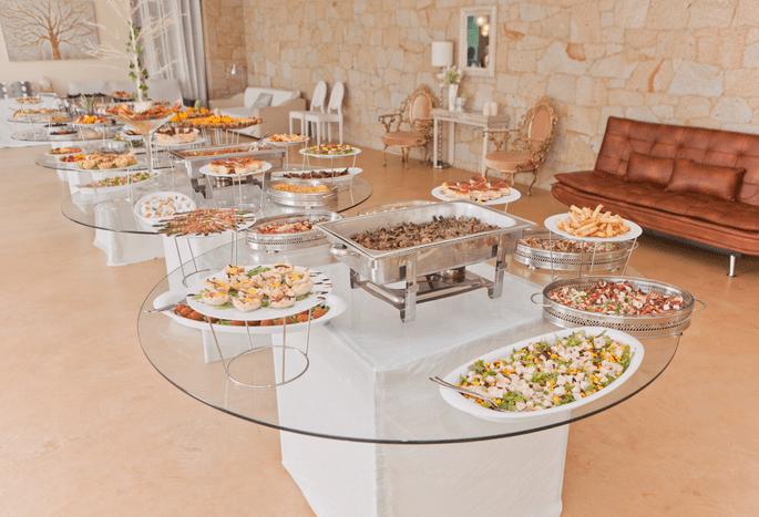 Quinta São Miguel de Arcos. Foto do catering