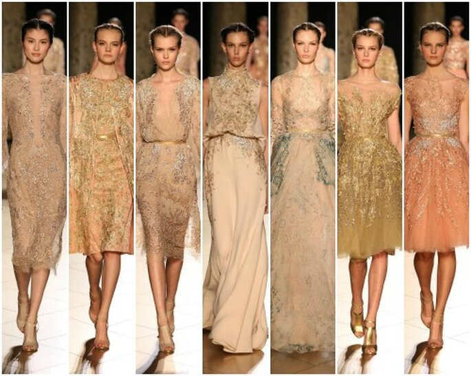 Robes Haute Couture Elie Saab, automne-hiver 2012-2013. Photo: Elie Saab