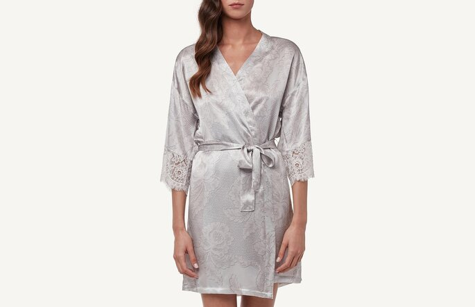 Kimono de raso. Credits: Intimissimi