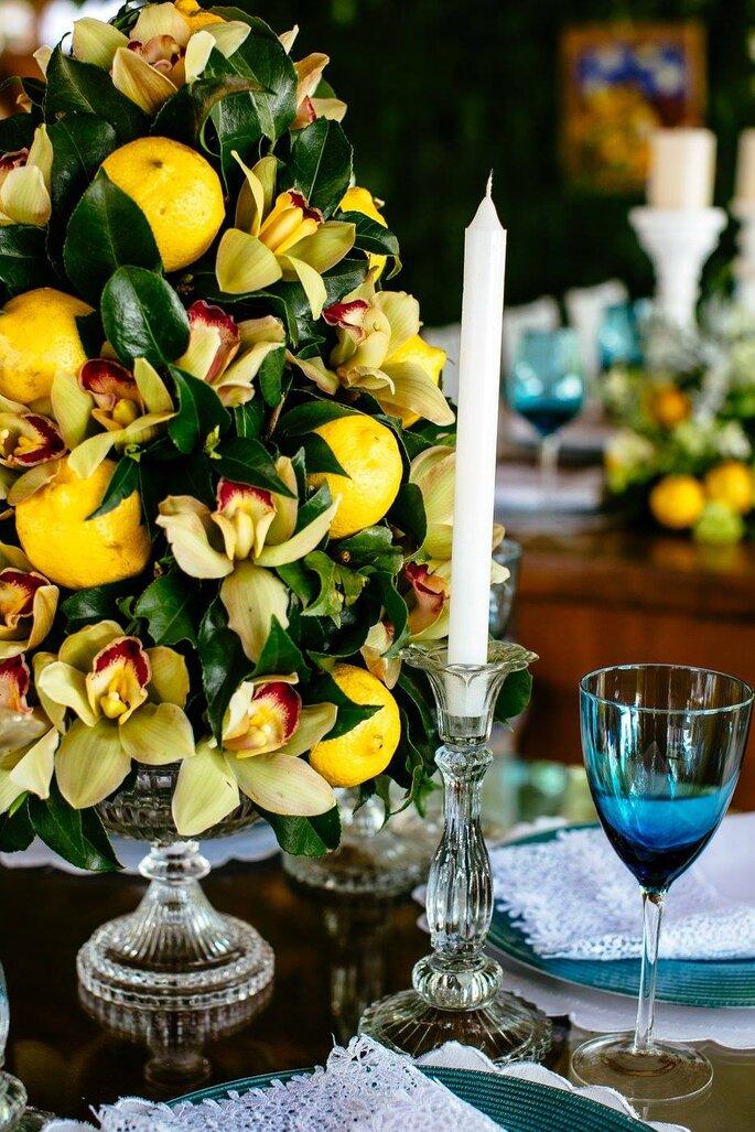 decoração casamento campo