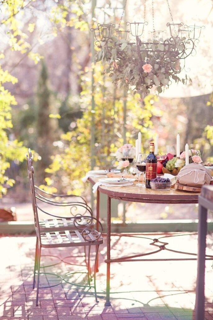 Una boda ultra romántica en un precioso jardín europeo - Foto Half Orange Photography