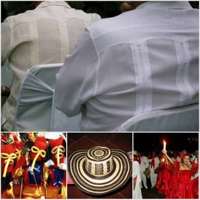 Detalles e ideas de vestimenta para una fiesta costeña. Fotos: Fiestas Premium - Maurice Medellin