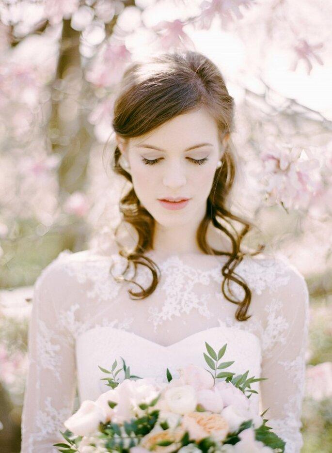 4 tendencias de maquillaje para novia en 2015 - Foto Rebecca Yale Portraits